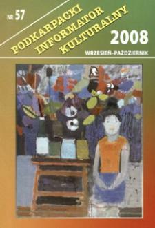Podkarpacki Informator Kulturalny. 2008, nr 57 (wrzesień-październik)