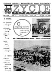 Życie Przemyskie : tygodnik Polskiej Zjednoczonej Partii Robotniczej. 1981, R. 15, nr 1 (688) (7 stycznia)