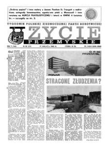 Życie Przemyskie : tygodnik Polskiej Zjednoczonej Partii Robotniczej. 1982, R. 16, nr 7 (742) (17 marca)