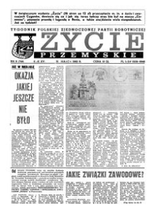 Życie Przemyskie : tygodnik Polskiej Zjednoczonej Partii Robotniczej. 1982, R. 16, nr 9 (744) (31 marca)