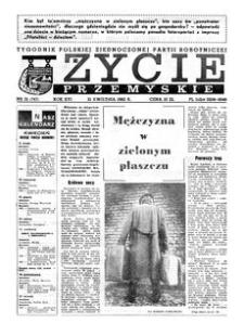 Życie Przemyskie : tygodnik Polskiej Zjednoczonej Partii Robotniczej. 1982, R. 16, nr 12 (747) (21 kwietnia)
