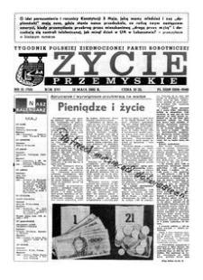 Życie Przemyskie : tygodnik Polskiej Zjednoczonej Partii Robotniczej. 1982, R. 16, nr 15 (750) (12 maja)