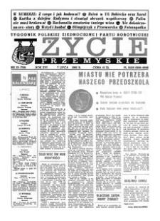 Życie Przemyskie : tygodnik Polskiej Zjednoczonej Partii Robotniczej. 1982, R. 16, nr 23 (758) (7 lipca)