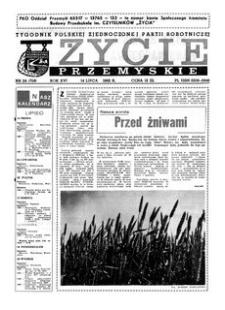 Życie Przemyskie : tygodnik Polskiej Zjednoczonej Partii Robotniczej. 1982, R. 16, nr 24 (759) (14 lipca)