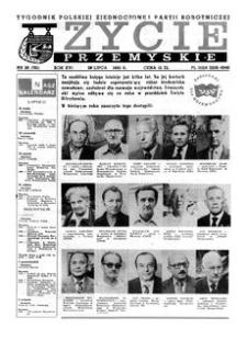 Życie Przemyskie : tygodnik Polskiej Zjednoczonej Partii Robotniczej. 1982, R. 16, nr 26 (761) (28 lipca)