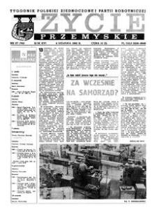 Życie Przemyskie : tygodnik Polskiej Zjednoczonej Partii Robotniczej. 1982, R. 16, nr 27 (762) (4 sierpnia)