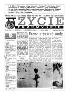 Życie Przemyskie : tygodnik Polskiej Zjednoczonej Partii Robotniczej. 1982, R. 16, nr 30 (765) (25 sierpnia)