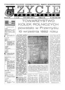 Życie Przemyskie : tygodnik Polskiej Zjednoczonej Partii Robotniczej. 1982, R. 16, nr 32 (767) (8 września)
