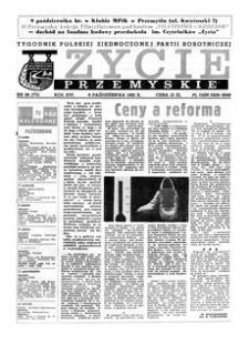 Życie Przemyskie : tygodnik Polskiej Zjednoczonej Partii Robotniczej. 1982, R. 16, nr 36 (771) (6 października)