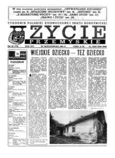 Życie Przemyskie : tygodnik Polskiej Zjednoczonej Partii Robotniczej. 1982, R. 16, nr 38 (773) (20 października)