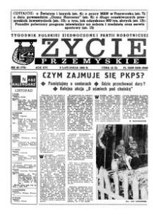 Życie Przemyskie : tygodnik Polskiej Zjednoczonej Partii Robotniczej. 1982, R. 16, nr 40 (775) (3 listopada)