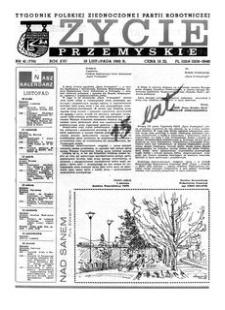 Życie Przemyskie : tygodnik Polskiej Zjednoczonej Partii Robotniczej. 1982, R. 16, nr 41 (776) (10 listopada)