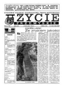 Życie Przemyskie : tygodnik Polskiej Zjednoczonej Partii Robotniczej. 1982, R. 16, nr 45 (780) (8 grudnia)