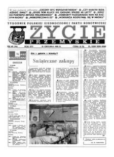 Życie Przemyskie : tygodnik Polskiej Zjednoczonej Partii Robotniczej. 1982, R. 16, nr 46 (781) (15 grudnia)