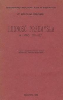 Ludność Przemyśla w latach 1521-1921