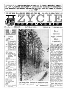Życie Przemyskie : tygodnik Polskiej Zjednoczonej Partii Robotniczej. 1983, R. 17, nr 3 (786) (19 stycznia)