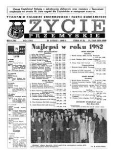 Życie Przemyskie : tygodnik Polskiej Zjednoczonej Partii Robotniczej. 1983, R. 17, nr 8 (791) (23 lutego)