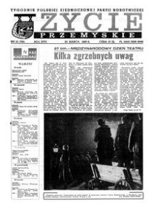 Życie Przemyskie : tygodnik Polskiej Zjednoczonej Partii Robotniczej. 1983, R. 17, nr 12 (795) (23 marca)