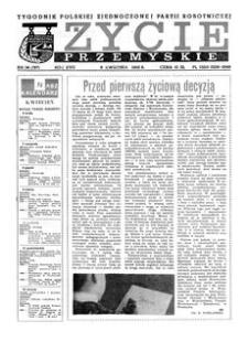 Życie Przemyskie : tygodnik Polskiej Zjednoczonej Partii Robotniczej. 1983, R. 17, nr 14 (797) (6 kwietnia)