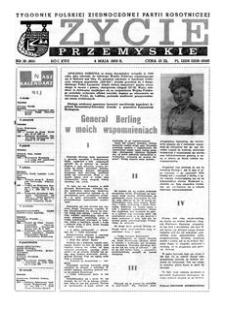 Życie Przemyskie : tygodnik Polskiej Zjednoczonej Partii Robotniczej. 1983, R. 17, nr 18 (801) (4 maja)
