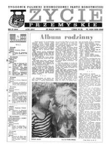 Życie Przemyskie : tygodnik Polskiej Zjednoczonej Partii Robotniczej. 1983, R. 17, nr 21 (804) (25 maja)