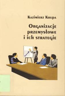 Organizacje przemysłowe i ich strategie