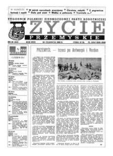 Życie Przemyskie : tygodnik Polskiej Zjednoczonej Partii Robotniczej. 1983, R. 17, nr 25 (808) (22 czerwca)