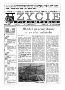Życie Przemyskie : tygodnik Polskiej Zjednoczonej Partii Robotniczej. 1983, R. 17, nr 26 (809) (29 czerwca)