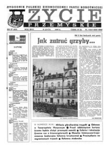 Życie Przemyskie : tygodnik Polskiej Zjednoczonej Partii Robotniczej. 1983, R. 17, nr 27 (810) (6 lipca)