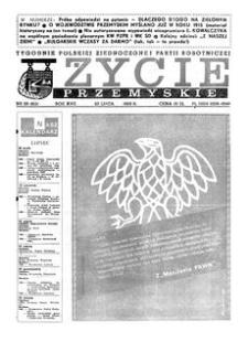 Życie Przemyskie : tygodnik Polskiej Zjednoczonej Partii Robotniczej. 1983, R. 17, nr 29 (812) (20 lipca)