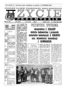 Życie Przemyskie : tygodnik Polskiej Zjednoczonej Partii Robotniczej. 1983, R. 17, nr 30 (813) (27 lipca)