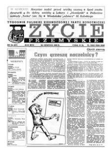 Życie Przemyskie : tygodnik Polskiej Zjednoczonej Partii Robotniczej. 1983, R. 17, nr 34 (817) (24 sierpnia)