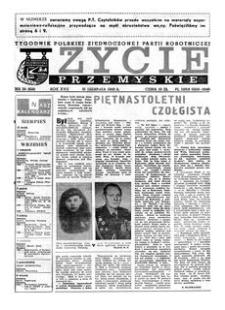 Życie Przemyskie : tygodnik Polskiej Zjednoczonej Partii Robotniczej. 1983, R. 17, nr 35 (818) (31 sierpnia)