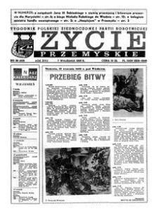 Życie Przemyskie : tygodnik Polskiej Zjednoczonej Partii Robotniczej. 1983, R. 17, nr 36 (819) (7 września)
