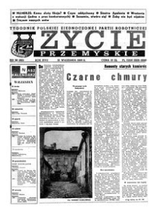 Życie Przemyskie : tygodnik Polskiej Zjednoczonej Partii Robotniczej. 1983, R. 17, nr 38 (821) (21 września)