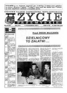 Życie Przemyskie : tygodnik Polskiej Zjednoczonej Partii Robotniczej. 1983, R. 17, nr 40 (823) (5 października)