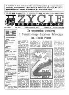 Życie Przemyskie : tygodnik Polskiej Zjednoczonej Partii Robotniczej. 1983, R. 17, nr 41 (824) (12 października)