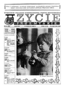 Życie Przemyskie : tygodnik Polskiej Zjednoczonej Partii Robotniczej. 1983, R. 17, nr 51 (834) (21 grudnia)