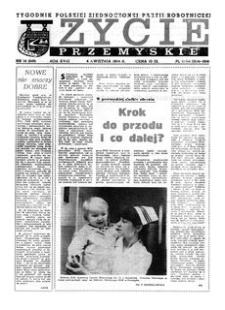 Życie Przemyskie : tygodnik Polskiej Zjednoczonej Partii Robotniczej. 1984, R. 18, nr 14 (849) (4 kwietnia)