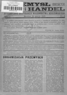 Przemysł i Handel Rzeszowski : miesięcznik gospodarczy województwa rzeszowskiego. 1946, R. 1, nr 1-8
