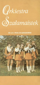 Orkiestra Szałamaistek III LO i WDK w Rzeszowie