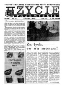 Życie Przemyskie : tygodnik Polskiej Zjednoczonej Partii Robotniczej. 1985, R. 19, nr 1 (888) (2 stycznia)