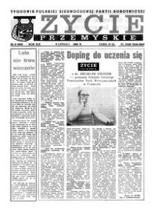 Życie Przemyskie : tygodnik Polskiej Zjednoczonej Partii Robotniczej. 1985, R. 19, nr 6 (893) (6 lutego)