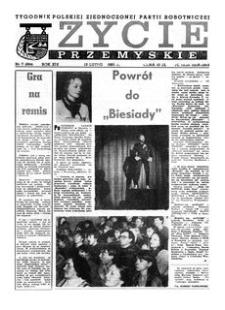 Życie Przemyskie : tygodnik Polskiej Zjednoczonej Partii Robotniczej. 1985, R. 19, nr 7 (894) (13 lutego)