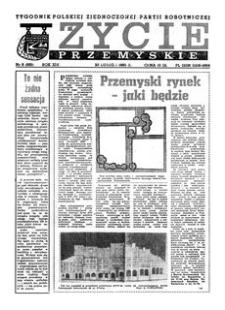 Życie Przemyskie : tygodnik Polskiej Zjednoczonej Partii Robotniczej. 1985, R. 19, nr 8 (895) (20 lutego)