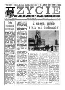 Życie Przemyskie : tygodnik Polskiej Zjednoczonej Partii Robotniczej. 1985, R. 19, nr 9 (896) (27 lutego)