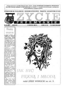 Życie Przemyskie : tygodnik Polskiej Zjednoczonej Partii Robotniczej. 1985, R. 19, nr 10 (897) (6 marca)