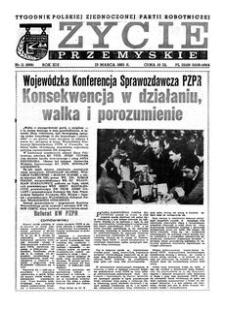 Życie Przemyskie : tygodnik Polskiej Zjednoczonej Partii Robotniczej. 1985, R. 19, nr 11 (898) (13 marca)