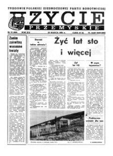 Życie Przemyskie : tygodnik Polskiej Zjednoczonej Partii Robotniczej. 1985, R. 19, nr 12 (899) (20 marca)