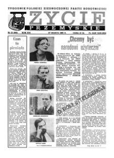 Życie Przemyskie : tygodnik Polskiej Zjednoczonej Partii Robotniczej. 1985, R. 19, nr 13 (900) (27 marca)